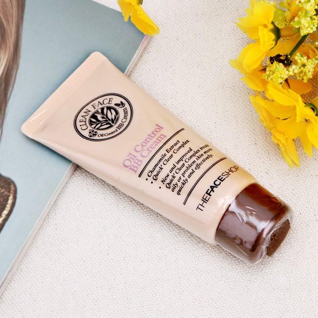 Kem nền BB Cream Oil Control Clean Face Hàn Quốc