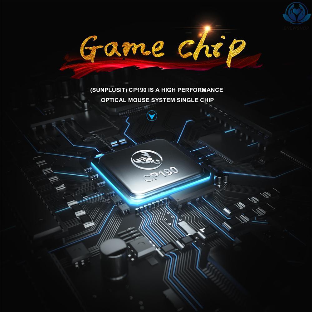 Chuột Quang Gaming Hxsj Có Dây 7 Nút Bấm Chuyên Dụng Cho Game Thủ / Văn Phòng / Chơi Game