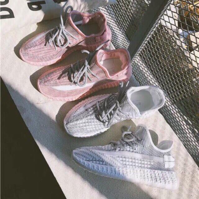 [Fullbox] Giày thể thao nữ dây phản quang siê