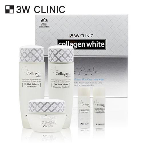 Bộ 3 sản phẩm dưỡng trắng da collagen 3W CLINIC COLLAGEN WHITE SKIN CARE 3-SET - 14173408 , 2254048876 , 322_2254048876 , 450000 , Bo-3-san-pham-duong-trang-da-collagen-3W-CLINIC-COLLAGEN-WHITE-SKIN-CARE-3-SET-322_2254048876 , shopee.vn , Bộ 3 sản phẩm dưỡng trắng da collagen 3W CLINIC COLLAGEN WHITE SKIN CARE 3-SET