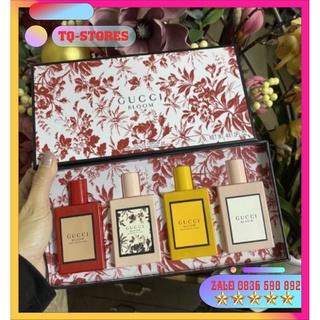 Set Bộ Nước Hoa Gucci Bloom Mini 4 Chai – 30ml/chai