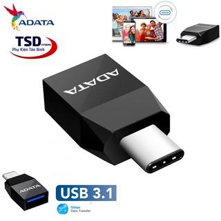 [Mã ELFLASH5 giảm 20K đơn 50K] Đầu Chuyển Type C Sang USB 3.1 Chính Hãng Adata
