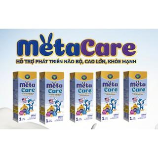 Thung Sữa pha sẵn Metacare vàng cao cấp loại 110ml thùng 48 hộp