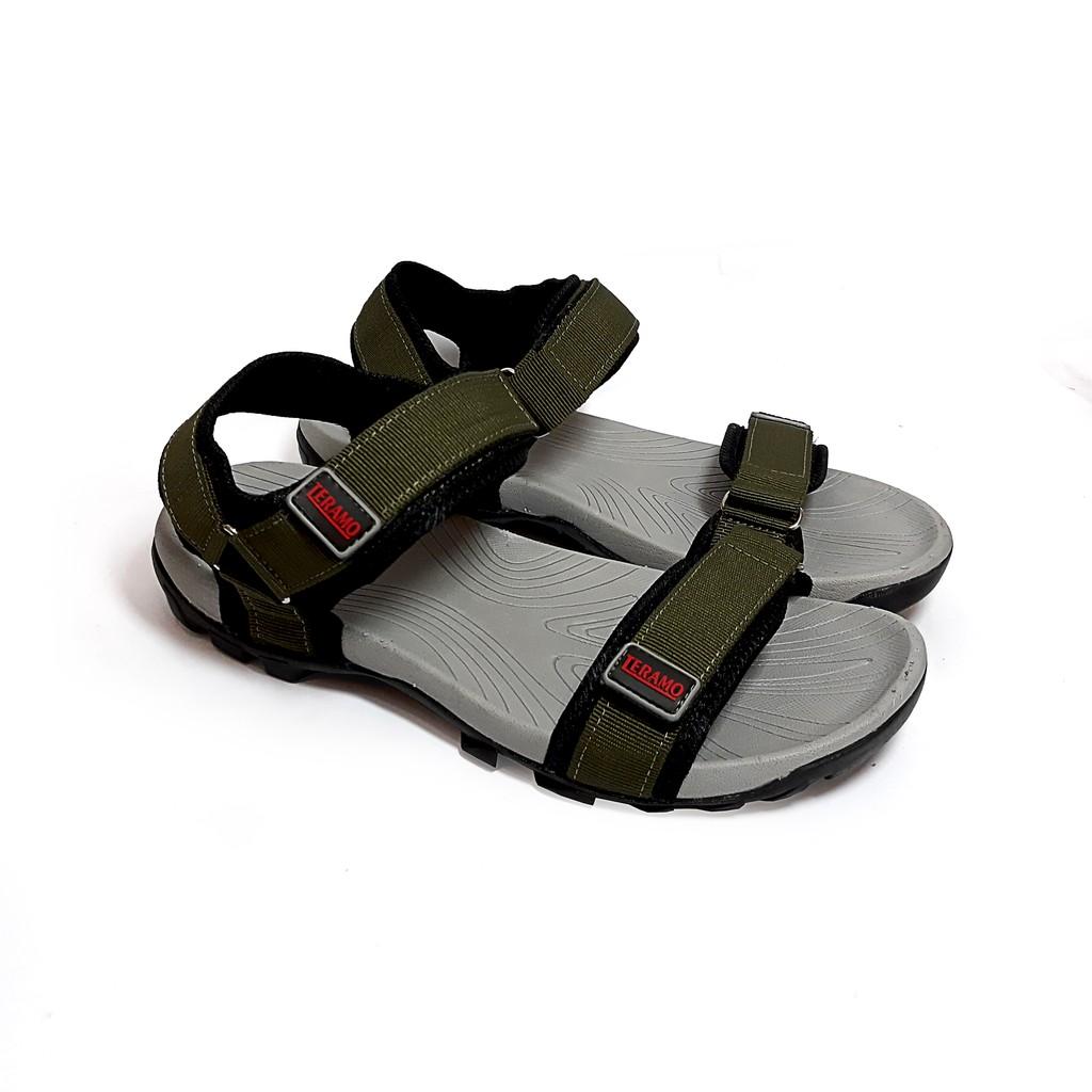 Giày Sandal Teramo hai quai ngang nam nữ - TRM
