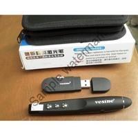 Bút Chỉ Laser Thuyết Trình vesine VP-101 (Đen) + Tặng miếng lót chuột | HÀNG MỚI Giá chỉ 186.300₫