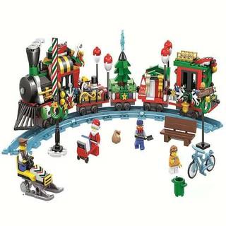 Bộ Lego lắp ráp xe tàu hỏa 11094 quà giáng sinh noen dành cho bé những điều bất ngờ Children's Christmas gifts