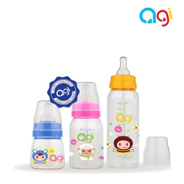 Bình sữa Agi Premium 60ml/120ml/250ml