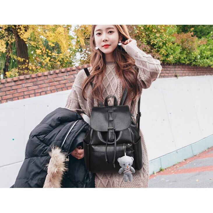 ⚡️⚡️DEAL HOT THÁNG 03⚡️ Ba lô thời trang nữ không tặng kèm gấu A096