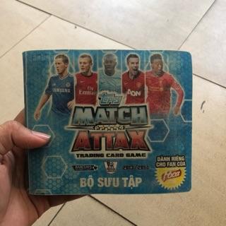 Bộ thẻ match attax 13/14 gần full 55/68 thẻ