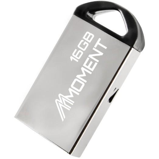 USB kim loại - chống nước tốt 16GB Moment MU22 Chính hãng - BH 24 tháng