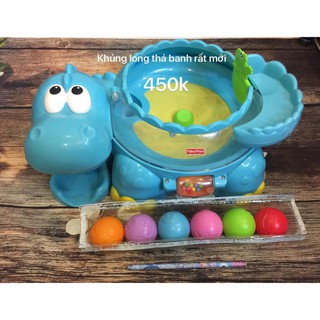 Khủng long thả banh Fisher Price