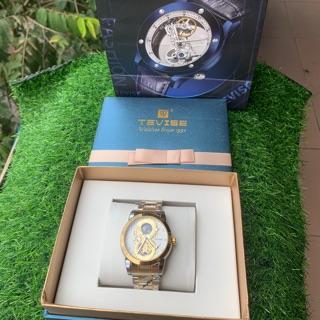 Đồng hồ cơ cho Nam Tevise Phiên bản Rồng fullbox
