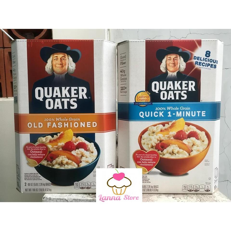 Hộp 4,52Kg Yến Mạch Quaker Oats - Nhập Khẩu Từ Mỹ