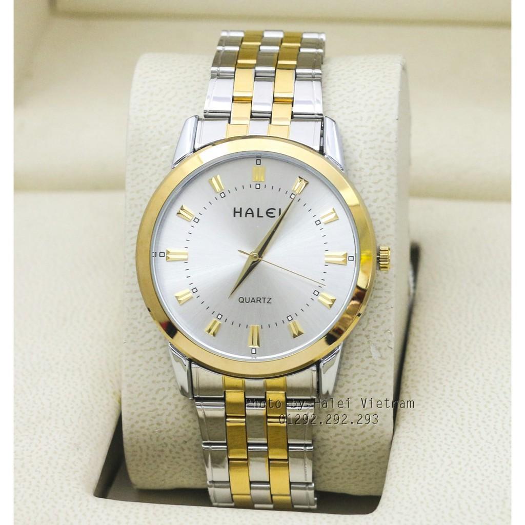 Đồng hồ nam Halei H502DV chống nước + Tặng kèm pin đồng hồ