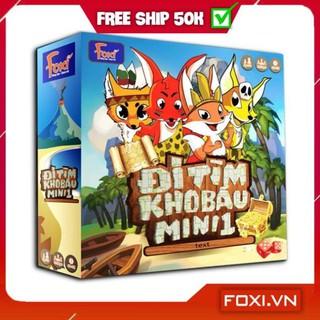 [FREESHIP+TẶNG QUÀ] Board game-Đi tìm kho báu mini 1 Foxi-đồ chơi phát triển tư duy-dễ chơi-vui nhộn-giá siêu rẻ