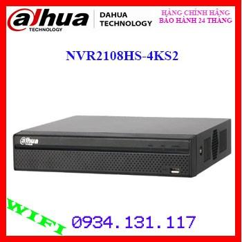 Đầu ghi hình camera IP 8 kênh DAHUA NVR2108HS-4KS2