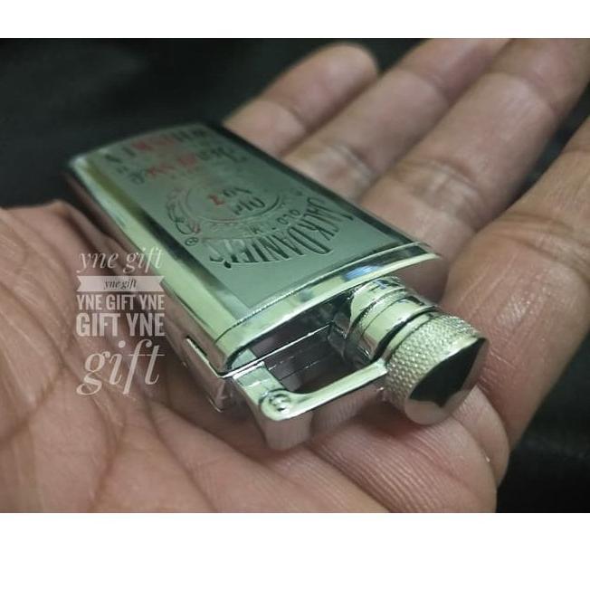 Unik# Korek Gas Hip Flask 02 Korek Api Jack Daniel s Mancis Jimbeam .