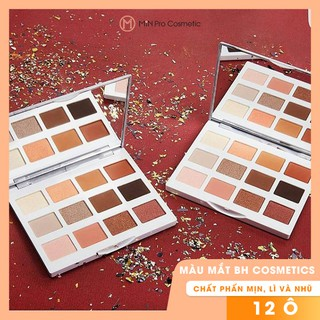 Bảng màu mắt BH Cosmetics Marble Collection Warm Stone Eyeshadow Palette 12 ô thumbnail