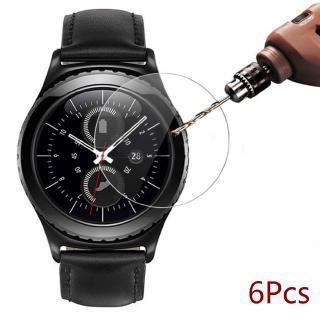 Set 6 Kính Cường Lực Chống Cháy Nổ Cho Đồng Hồ Samsung Galaxy Watch 42mm/46m/lte
