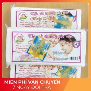 𝓛𝓸𝓪̣𝓲 1 𝓣𝓸̂́𝓽 𝓝𝓱𝓪̂́𝓽 Set 3 Gói Khăn Vải Khô Đa Năng Hiền Trang ( ~200gram/ gói)