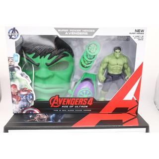 [FREE SHIP 50K] [Nhập mã TOYOCT giảm 10% tối đa 15K đơn từ 50K]Bộ đồ chơi siêu anh hùng Hulk