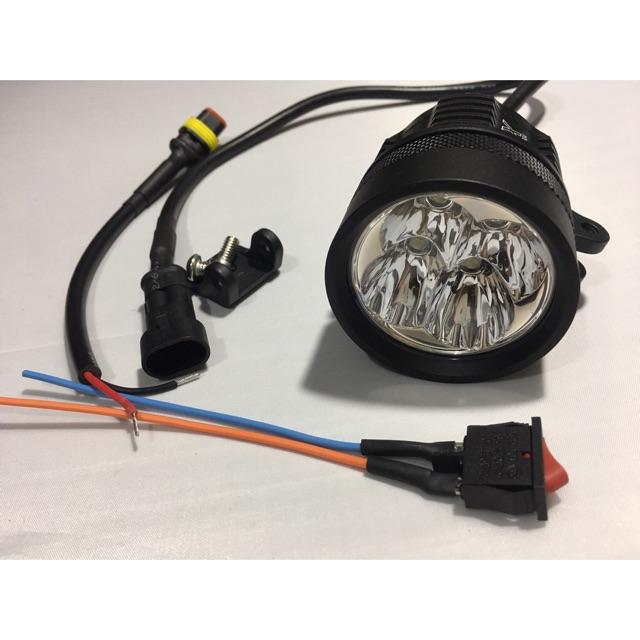 đèn trợ sáng l4x siêu sáng tặng công tắc