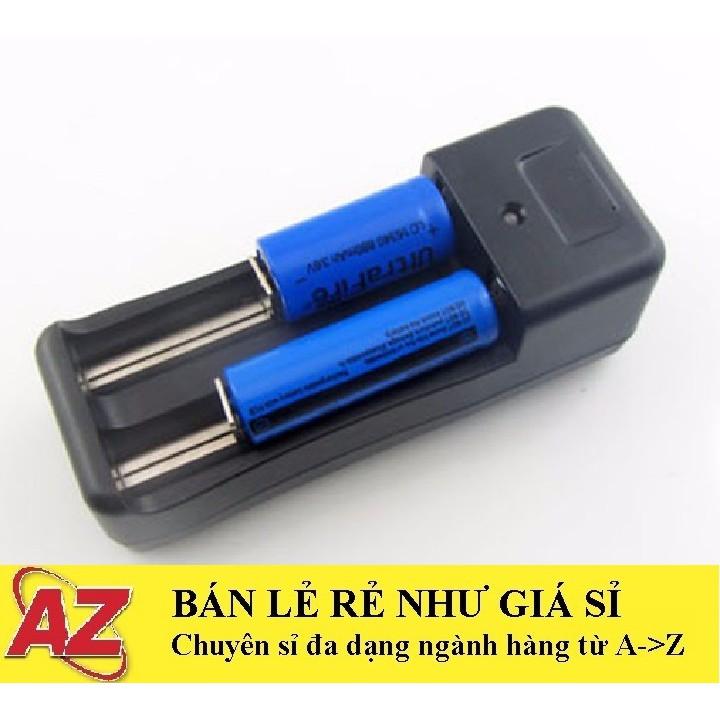 Bộ Sạc Đôi, Dock Sạc Đôi Dùng Cho Cell Pin 18650 Sạc 3V7 4V2