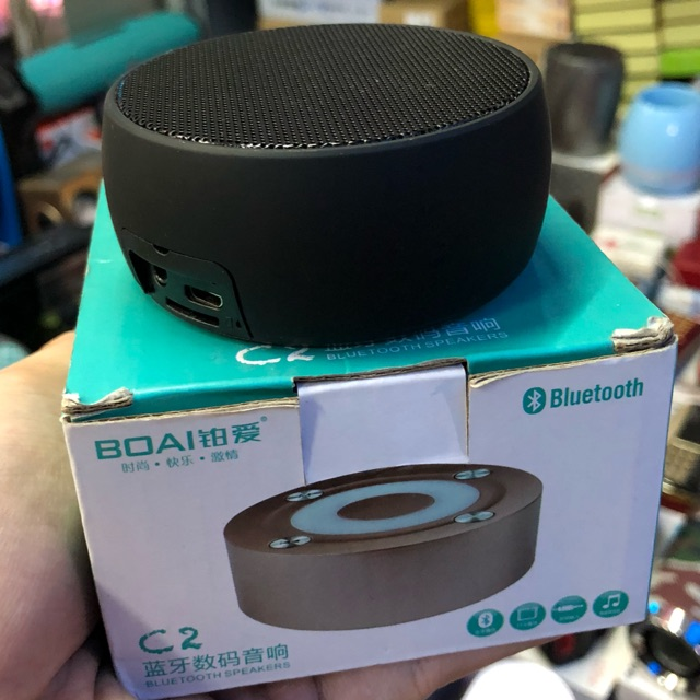 Loa cầm tay mini Bluetooth BOAI C2