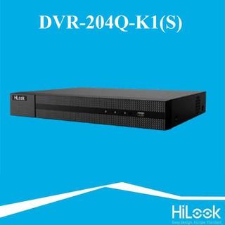 Đầu ghi hình TVI-IP 4 kênh HILOOK DVR-204Q-K1(S) – Hàng chính hãng