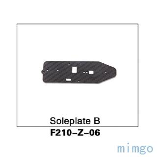 Walkera F210 FPV Racer Quadcopter Spare Parts Soleplate B for Runner R250 RC Drone F210-Z-06
