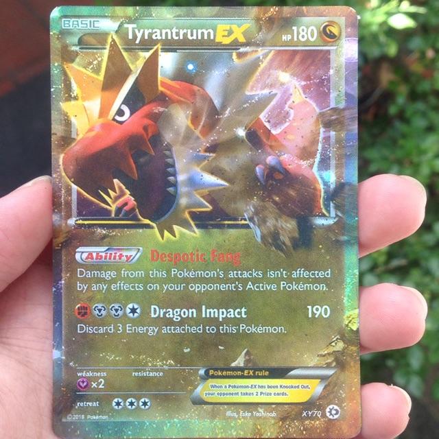 Bai Pokemon Tyrantrum Ex