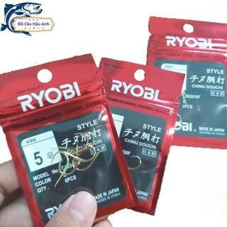 Lưỡi Câu Cá Nhật Ryobi Chinu Lưỡi Câu Siêu Bén Lưỡi Câu Đài LC1