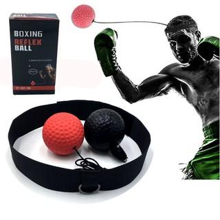 Bán sỉ Combo 10 Bóng Phản Xạ Boxing Treo Đầu Sẵn Hàng