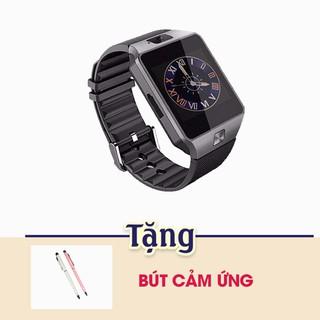 Đồng hồ thông minh điện thoại DMT09 màu Đen tặng bút cảm ứng thumbnail