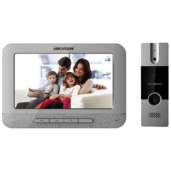 """Bộ Chuông cửa màn hình Analog HIKVISION DS-KIS202 màn hình LCD 7"""", camera hồng ngoại"""