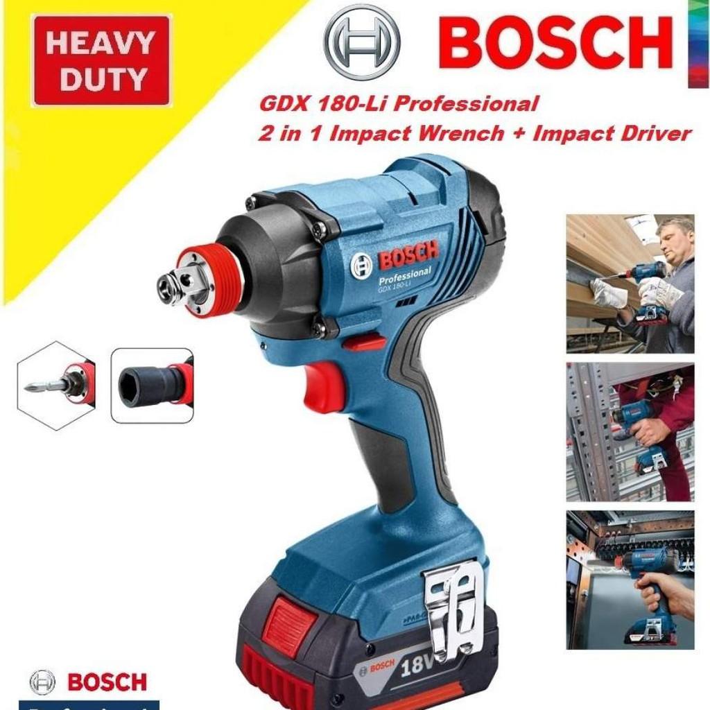 Máy vặn ốc dúng PIN Bosch GDX 18