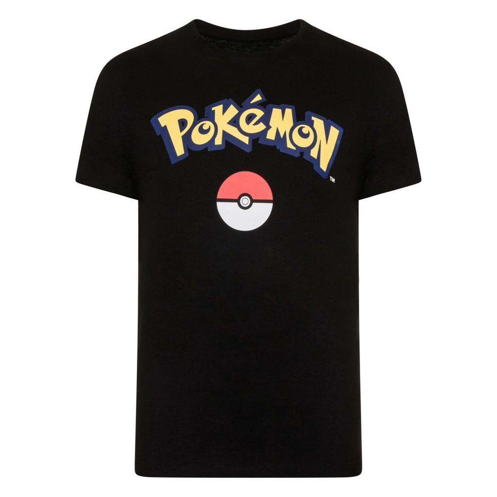 áo thun nam tay ngắn in hình pikachu
