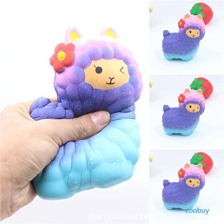 CB❤❤ Babys Kids Squishy Slow Rising Blue Sheep Squeeze Toy Jumbo Mobile Stress Reliever Cartoon số điện thoại 0927517516