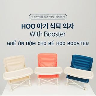 GHẾ ĂN DẶM Hoo Booster GHẾ GẤP GỌN HOO PHONG CÁCH HÀN QUỐC thumbnail