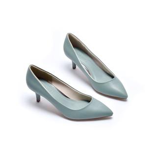 Giày gót thấp bít mũi Merly 1200 thumbnail
