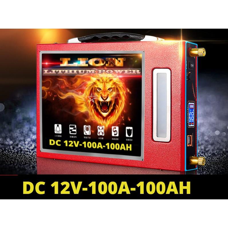 Bình Pin lithium 12V - 100Ah Công Nghệ Pin Mới