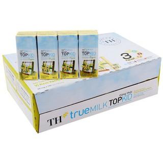 Sữa Công thức TOPKID hoàn toàn từ sữa tươi Organic – Vị kem Vanilla tự nhiên 180ml