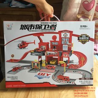 Lego rescue – bộ lắp ráp trạm sửa xe cứu hỏa 2