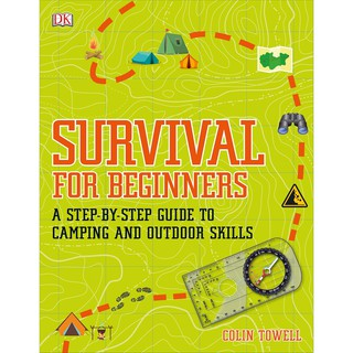 Sách DK Survival for Beginners A step-by-step Guide to Camping and Outdoor Skills - dạy kỹ năng sinh tồn thumbnail
