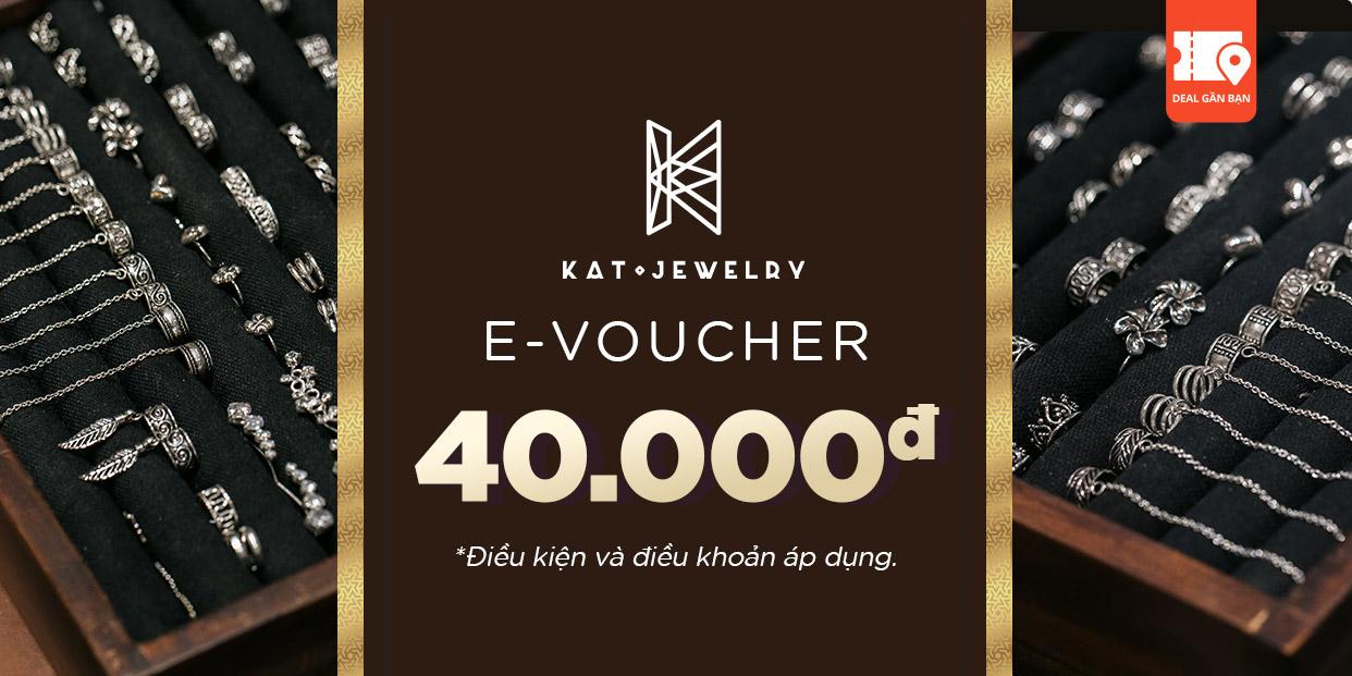 E-Voucher KaT Jewelry trị giá 40.000đ