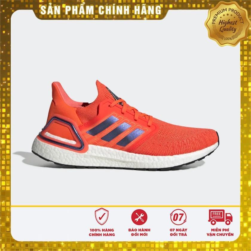 "(100% Adidas chính hãng) Giày Adidas Ultraboost 20 ISS US National Lab ""Solar Red"""