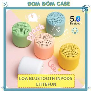 Loa Bluetooth Mini Inpods TWS Mini cầm tay Bluetooth kết nối hai loa cùng lúc hiện đại - BH Ba Tháng đổi mới