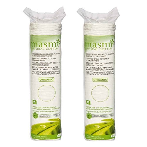 Bông tẩy trang hữu cơ Masmi túi 80 miếng