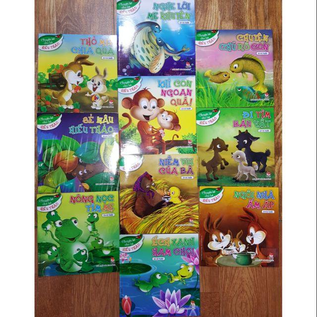 Sách Truyện kể cho bé hiếu thảo (Bộ 10 cuốn)