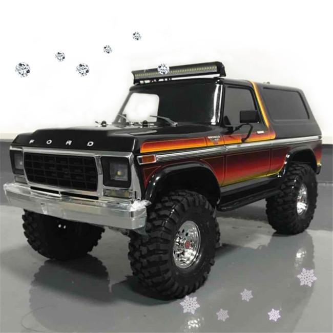 RC Car LED Light Bar 36 Leds for Trx4 Axial SCX10 90046 D90 Body RC Rock Crawler Truck Body Shell...